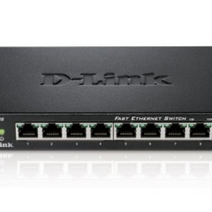 D-Link DES-108 Switch 8 porte Metal 10/100 Mbit/s