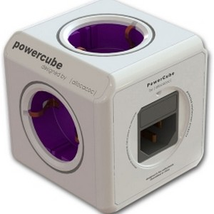 Ciabatta 4 prese Power Cube + USB Charge Lindy 73222